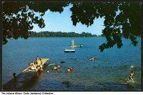 Image of Swimmers at Flint Lake, Valparaiso, Indiana, 1958 - Copyright 1958.