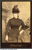 Image of Portrait of a young woman by Nason of Indianapolis, Indiana, ca. 1875