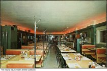Image of Interior of Bob Chapman's Silver Fountain Restaurant, Indianapolis, Indiana, ca. 1967 - Postmarked June 25, 1967.
