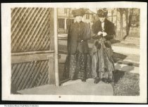 """Image of Emma Hauswald and her mother, ca. 1910 - On the back it reads """"Grandma Emma & her mom Steinhouer."""""""