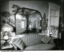 Image of Interior entrance of Sadlier family farmhouse, Indianapolis, Indiana, ca. 1950 -