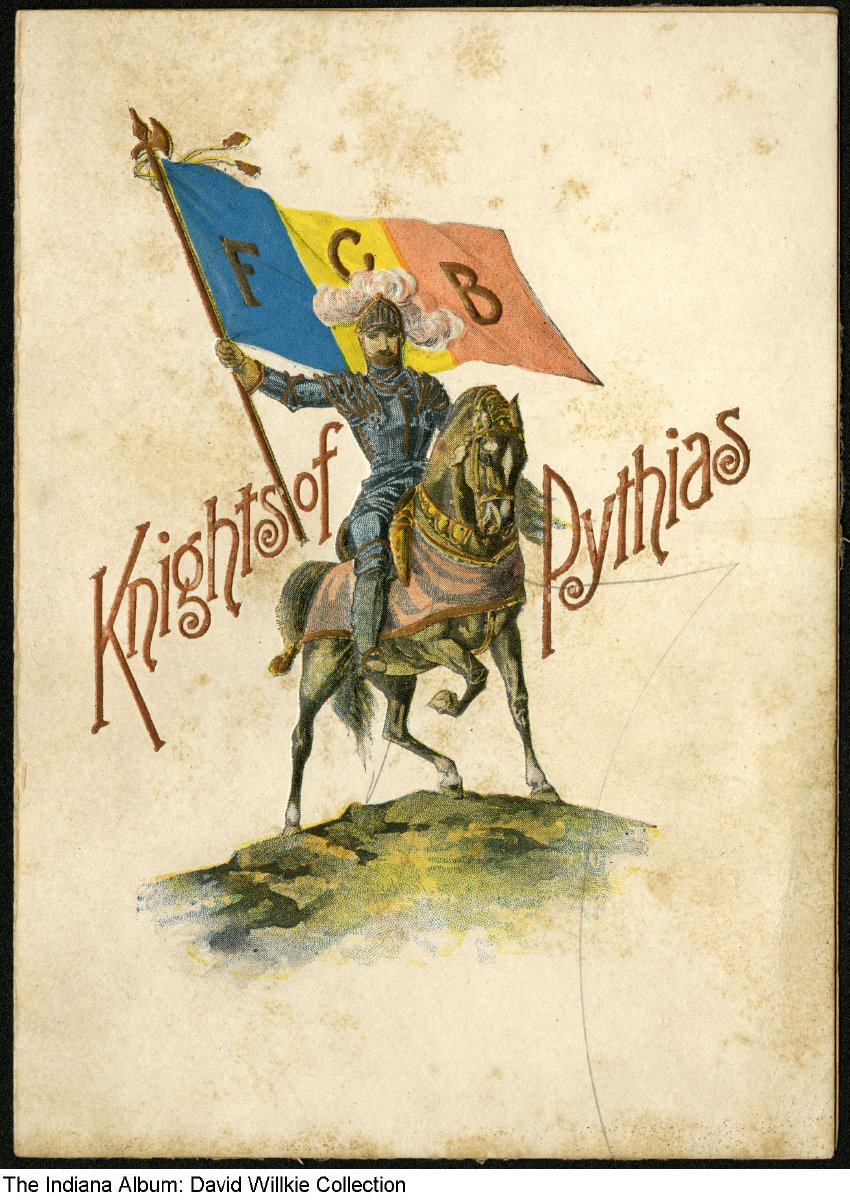 Knights Of Pythias Military Ball Invitation Alexandria Indiana