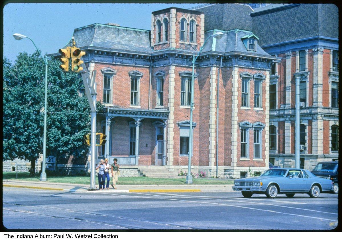 Hamilton County Jail and Sheriff's residence, Noblesville, Indiana