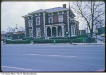 Image of Bals-Wocher House, Indianapolis, Indiana, 1980 - Time stamped April, 1980.
