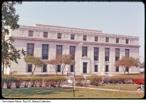 Image of State Library building, Indianapolis, Indiana, 1963 - Time stamped October, 1963.