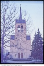 Image of St. Mary's Catholic Church, Muncie, Indiana, 1968 - Time stamped April, 1968.