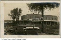 Oakwood Park and Hotel, Lake Wawasee, Syracuse, Indiana, circa 1912