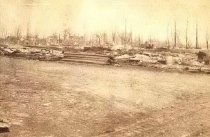 Image of Oshkosh after the Fire of 1875 - P1928.1.3