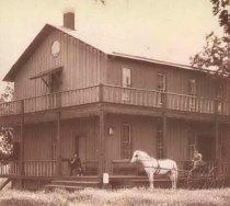 Image of rear of Oakwood Lodge - P1932.1.3