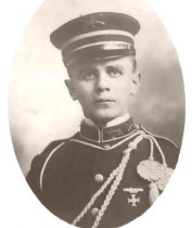 Image of Frank Obersteiner, Company F, 2nd Wisconsin National Guard - P1935.13.1