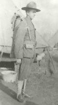 Image of Sergeant Frank Obersteiner, Company C, 150th Machine Gun Battalion - P1935.13.2