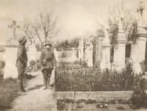 Image of Doughboys in Cemetery - P1935.27.605