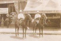 Image of Horsemen at Oshkosh Semicentennial - P1938.5.7