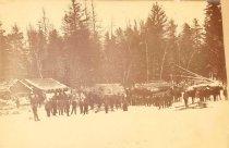 Image of Logging Camp - P1942.3.2