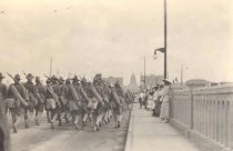 Image of 2nd Wisconsin marching into Austin - P1955.1.15