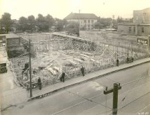 Image of Construction of the Hotel Raulf and Fischer's Theater - P1976.2.3