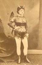 Image of Actress in Devil Costume - P1984.2.141