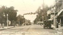 Image of Oregon Street north Toward Morgan Door - P1989.3.81