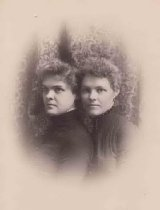 Image of Clara Witzel Sterling and Agnes S. Witzel - P2000.27.2