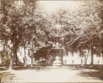Image of Oshkosh Normal School Fountain - P2000.34.149