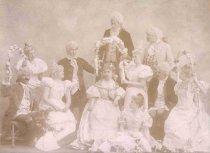 Image of Local Actors in Costume - P2001.1.552