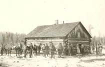 Image of Moore and Galloway Lumber Camp - P2001.7.49