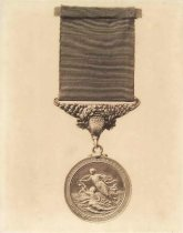 Image of Medal for life saving awarded to Otto Storbeck - P2001.8.6