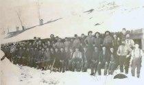 "Image of Lumberjacks at ""Camp 19"" - P2001.107.3"