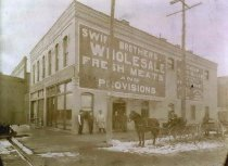 Image of Swift Brothers Wholesale Meat Shop - P2001.42.22