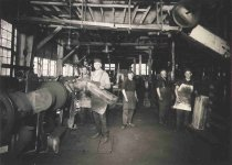 Image of Employees of Badger Lumber Company - P2001.44.5