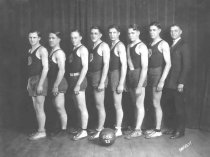 Image of Oshkosh Business College Basketball Team of 1925 - P2001.72.3