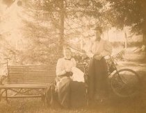 Image of Two Women in Park - P2002.3.146