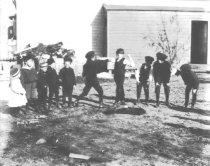 Image of Boys Fighting - P2002.14.550