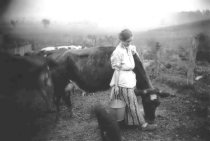 """Image of """"Her Pet - Mag & Cow"""" - P2002.14.481"""