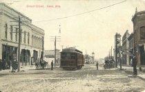 Image of Main Street, Omro, Wisconsin. - p2003.20.1090