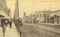 Image of Main Street, Omro, Wisconsin. - p2003.20.1092