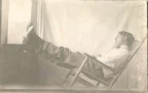 Image of Fred Relaxing - P2003.20.1328