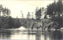 Image of Dells of the Wolf River, Wisconsin, taken from Saturday Islands - p2003.20.437