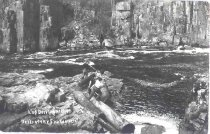 Image of Dells of the Eau Claire River in Wisconsin. - p2003.20.445