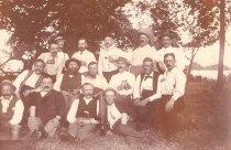 Image of Group at Derksen Cottage