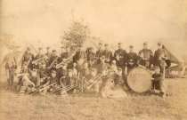 Image of Arion Band, band of the 2nd Wisconsin National Guard - P2004.35.100