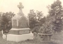 Image of Cronley Family Head Stone - P2005.10.32