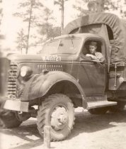 Image of George Dempsey in Truck - P2005.40.11