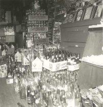 Image of Soda Bottles in Luft's Print Shop - P2006.21.16