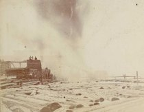 Image of Paine Lumber Company Fire, 1899 - P2007.49.3