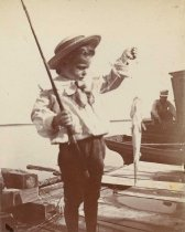 Image of Boy with Fish - P2007.49.7