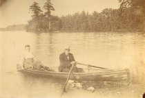 Image of Veteran Rowing at the Wisconsin Veterans Home - P2007.59.4