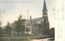 Image of German Lutheran Church at Merrill, Wisconsin - P2008.19.85