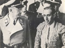 Image of Heinrich Himmler with Spanish Toreador - P2008.43.12