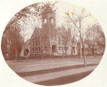 Image of Algoma Methodist Church in Oshkosh - P2009.2.2